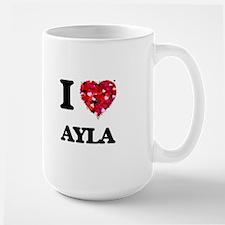 I Love Ayla Mugs