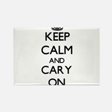 Keep Calm and Cary ON Magnets