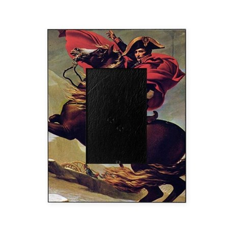 Napoleon on horse painting picture frame by wickeddesigns4 for Napoleon horse painting
