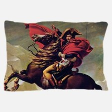Napoleon On Horse Painting Pillow Case