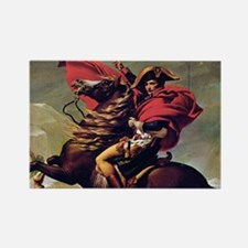 Napoleon On Horse Painting Magnets
