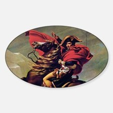 Napoleon On Horse Painting Decal