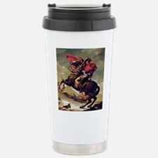 Napoleon On Horse Painting Travel Mug