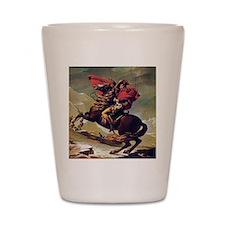 Napoleon On Horse Painting Shot Glass