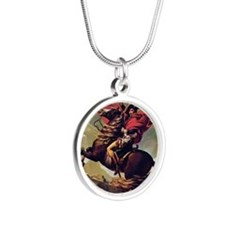 Napoleon On Horse Painting Necklaces