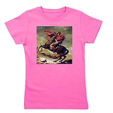 Napoleon On Horse Painting Girl's Tee