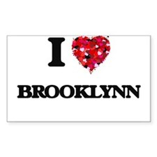 I Love Brooklynn Decal