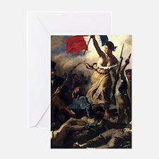 Eugène Delacroix French Revolution Painting Greeti