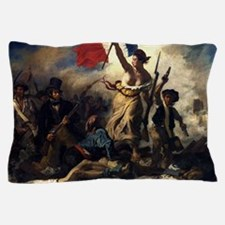 Eugène Delacroix French Revolution Painting Pillow