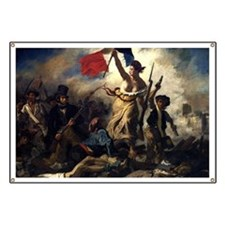 Eugène Delacroix French Revolution Painting Banner