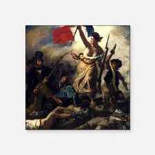 Eugène Delacroix French Revolution Painting Sticke
