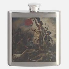 Eugène Delacroix French Revolution Painting Flask