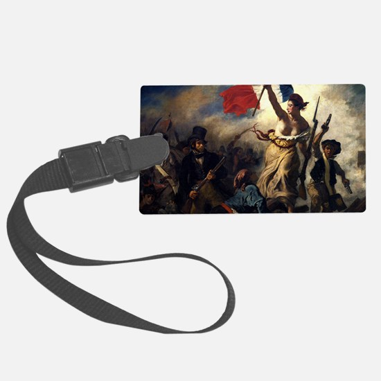 Eugène Delacroix French Revolution Painting Luggag