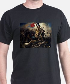 Eugène Delacroix French Revolution Painting T-Shir
