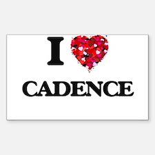 I Love Cadence Decal
