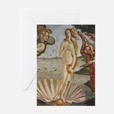 Venus and Adonis Painting Greeting Cards
