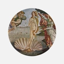 Venus and Adonis Painting Button