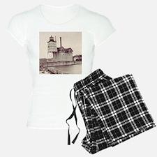 Holland Harbor Lighthouse 2 Pajamas