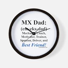 """MX Dad"" Wall Clock"