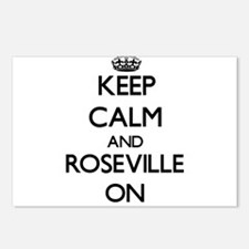 Keep Calm and Roseville O Postcards (Package of 8)