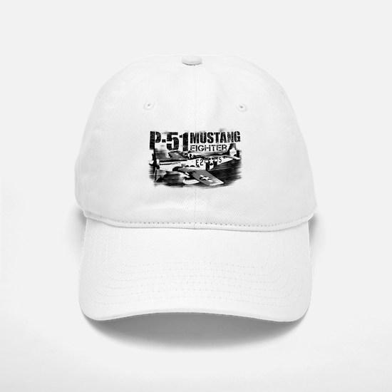 P-51 Mustang Baseball Baseball Baseball Cap