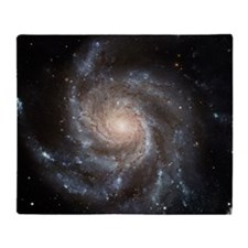 Spiral Galaxy (M101) Throw Blanket