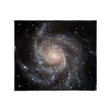 Spiral Galaxy (M101) Throw Blanket