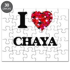 I Love Chaya Puzzle