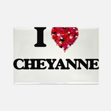 I Love Cheyanne Magnets