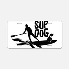 Cute Stand up Aluminum License Plate
