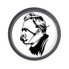 Cute Nietzsche Wall Clock