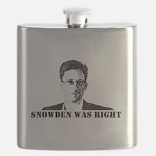 #SnowdenWasRight Flask