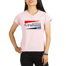 Lindsey Graham 2016 Performance Dry T-Shirt