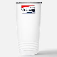 Lindsey Graham 2016 Travel Mug