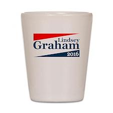 Lindsey Graham 2016 Shot Glass