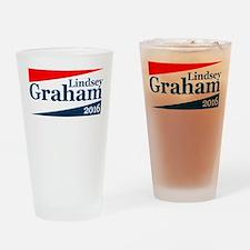 Lindsey Graham 2016 Drinking Glass