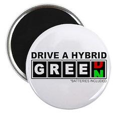 Drive a Hybrid(Batteries) Magnet