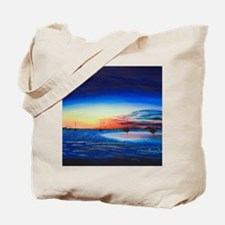 Sunrise at the Snook Tote Bag