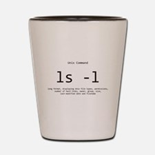 list command: UNIX: programming Shot Glass