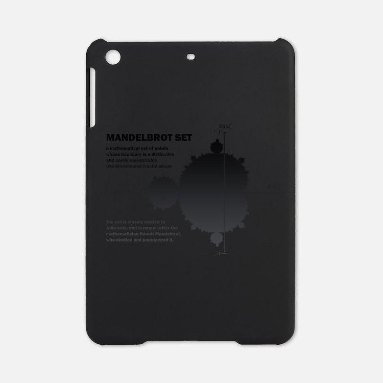 Mandelbrot set: fractal: science iPad Mini Case