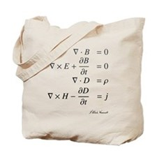 Maxwell's equations: science Tote Bag