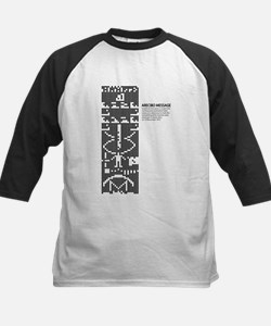 Arecibo message: space: science Baseball Jersey