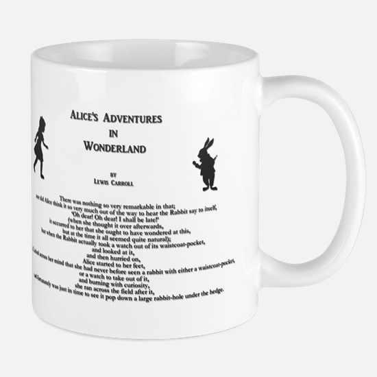 White Rabbit: Alice's Adventures in Wonderland Mug