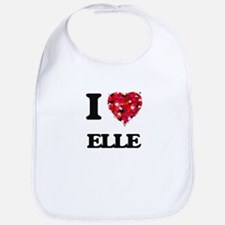 I Love Elle Bib