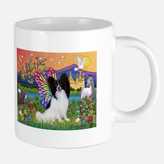 Papillon Butterfly in Fantasy Mugs