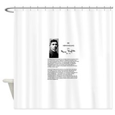The Metamorphosis: Franz Kafka Shower Curtain
