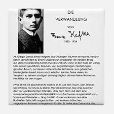 The Metamorphosis: Franz Kafka Tile Coaster