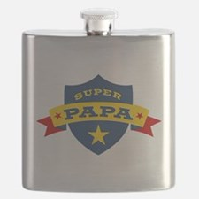 Super Papa Shield Flask