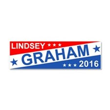 Lindsey Graham 2016 Car Magnet 10 X 3