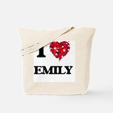 I Love Emily Tote Bag
